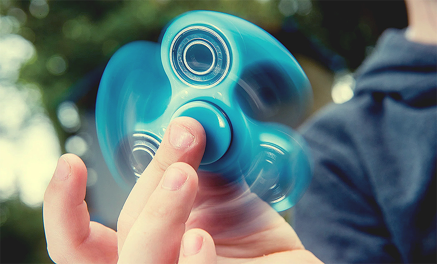 Para que serve Fidget Spinner?