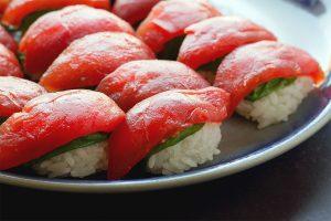 Sushi de Tomate