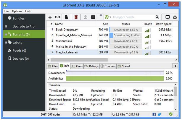 melhor programa torrent para windows
